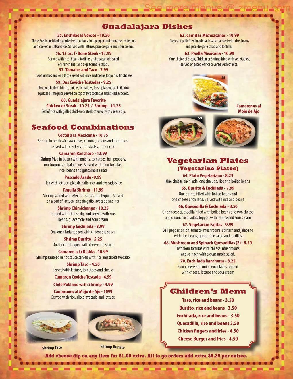 Guadalajara Mexican Restaurant Hours