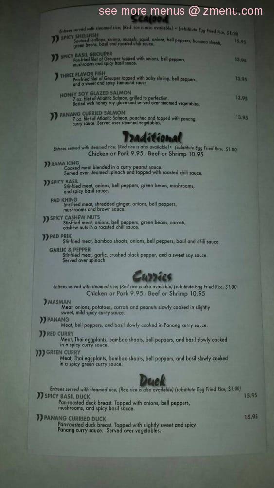 Thai Restaurant Covington Ga