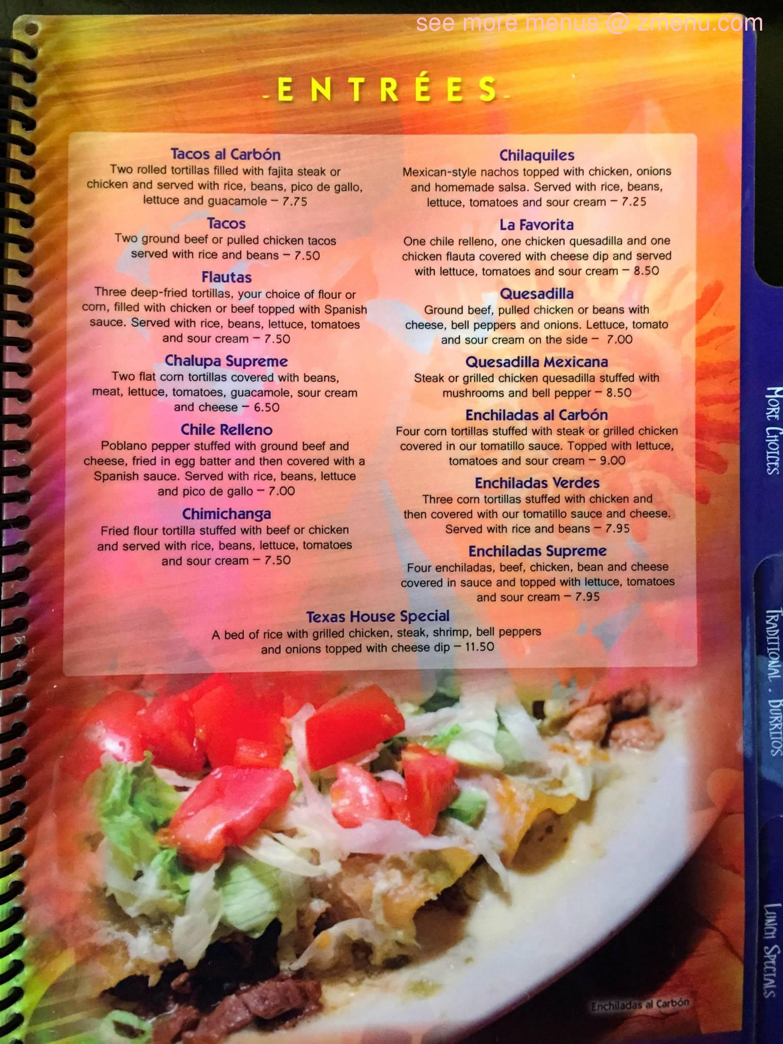 Online Menu Of El Amigo Mexican Restaurant Restaurant Milledgeville