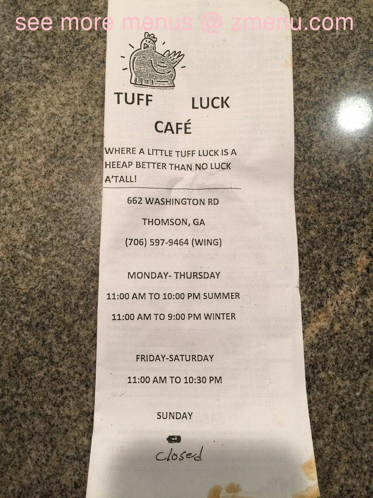 Lucky Chinese Restaurant Thomson Ga