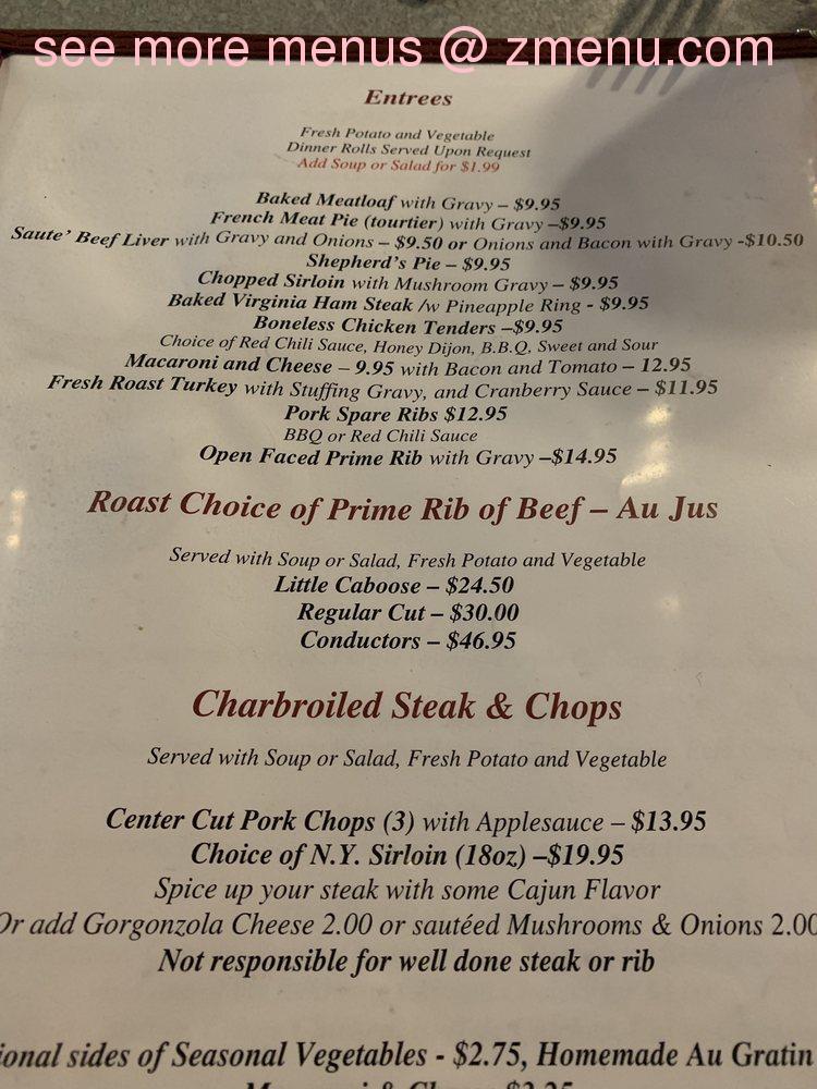 Online Menu Of Bernies Dining Depot Restaurant Chicopee Massachusetts 01020 Zmenu