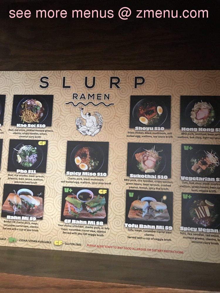 online menu of bemidji slurp ramen restaurant bemidji minnesota 56601 zmenu online menu of bemidji slurp ramen