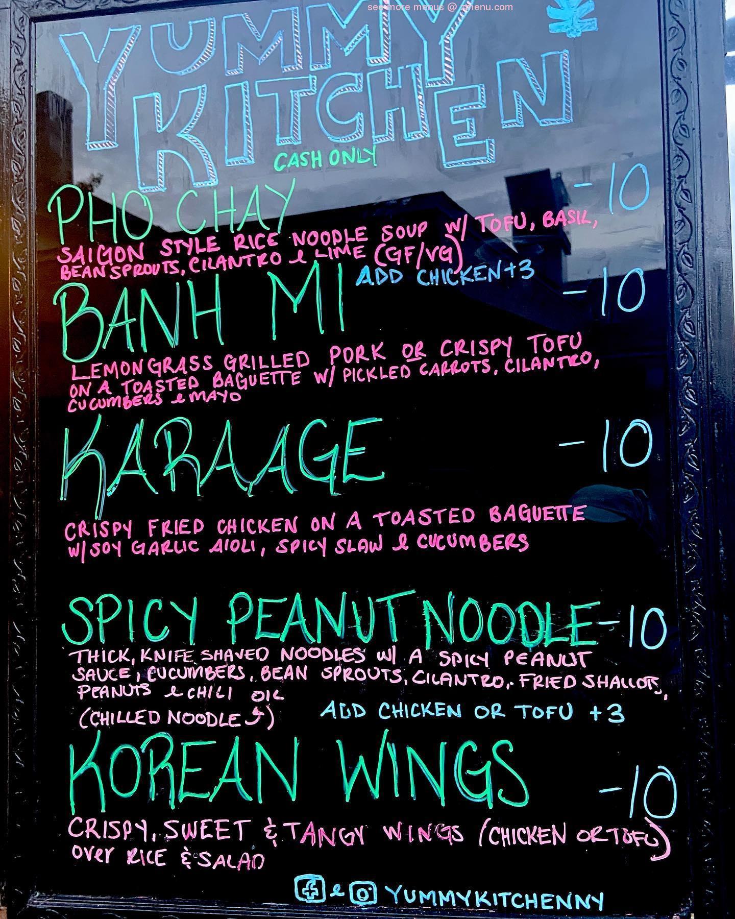 Online Menu Of Yummy Kitchen Restaurant Hudson New York 12534 Zmenu
