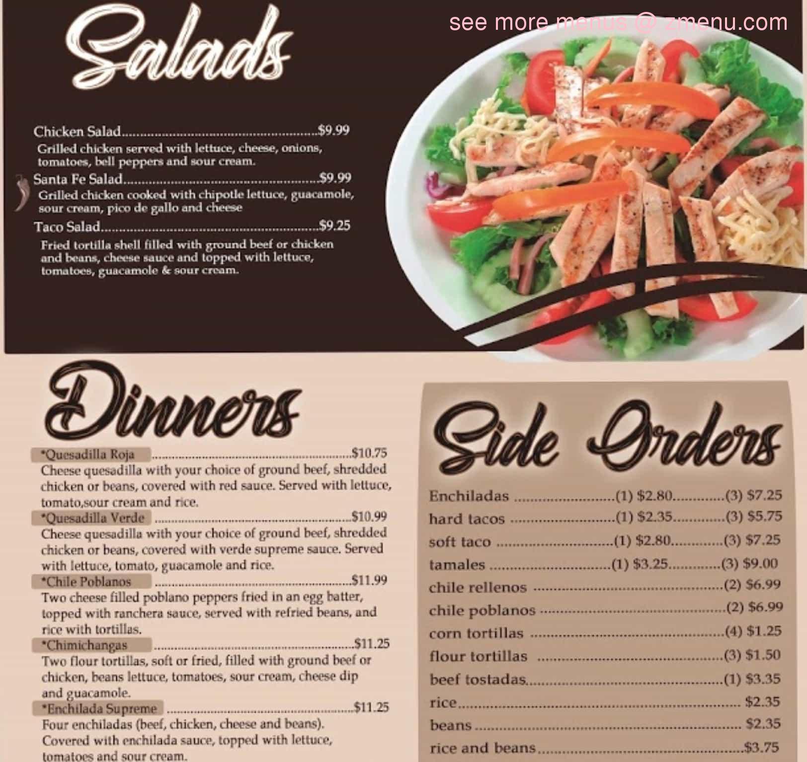 Online Menu Of Hacienda Pizzeria Restaurant Binghamton New