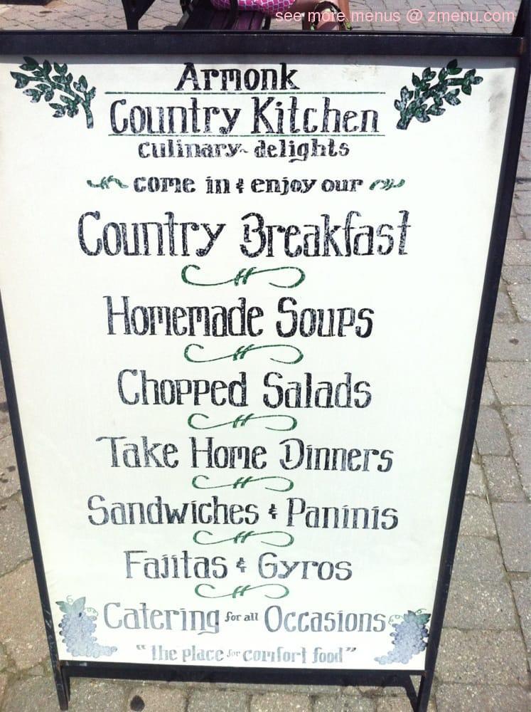 Online Menu Of Armonk Country Kitchen Restaurant Armonk New York 10504 Zmenu
