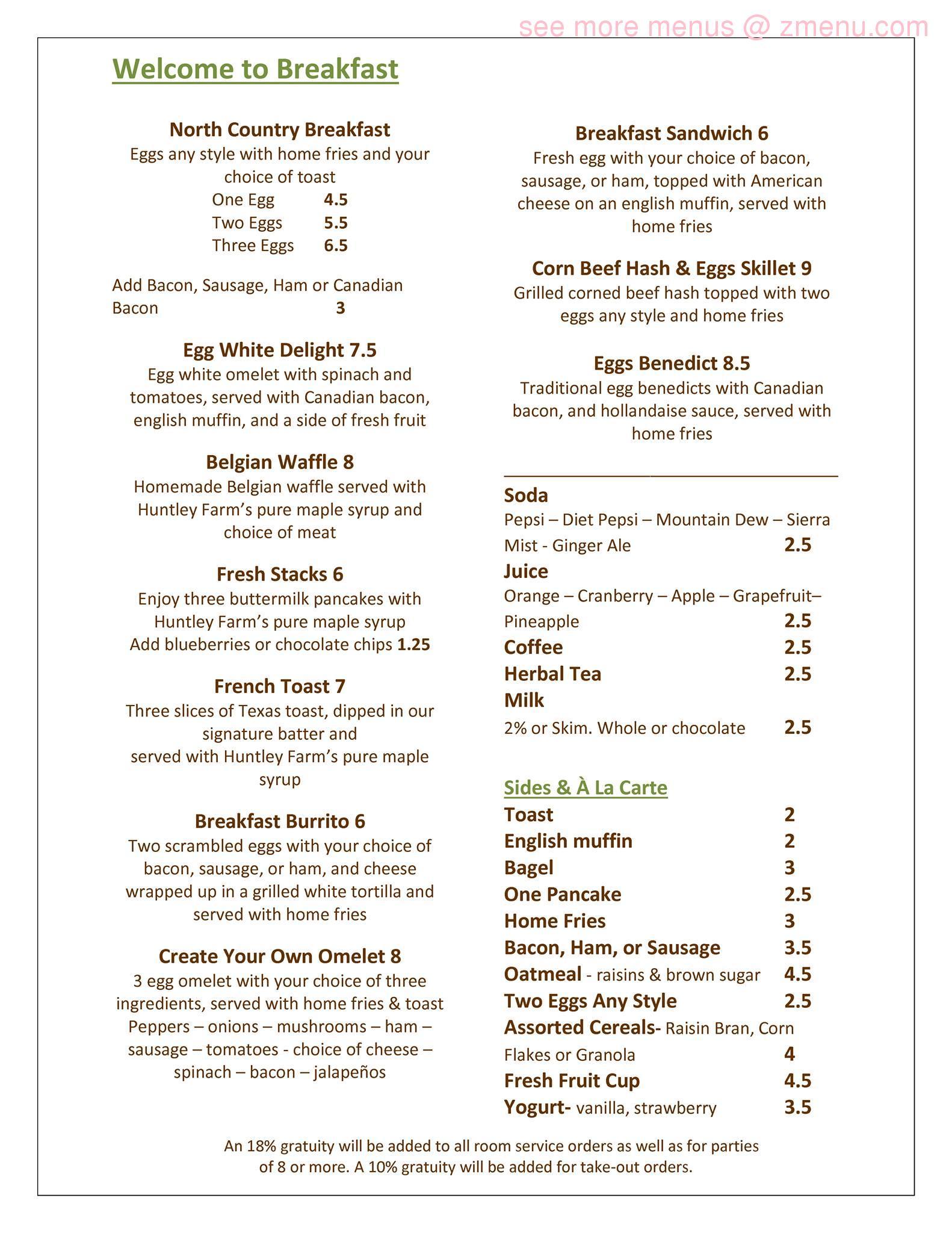 County Seat Restaurant Canton Ny