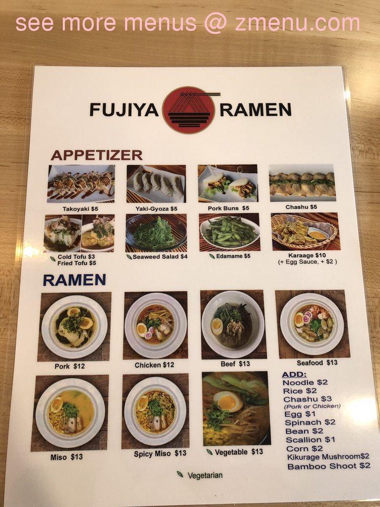 Online Menu Of Kirin Ramen Restaurant West Linn Oregon 97068 Zmenu