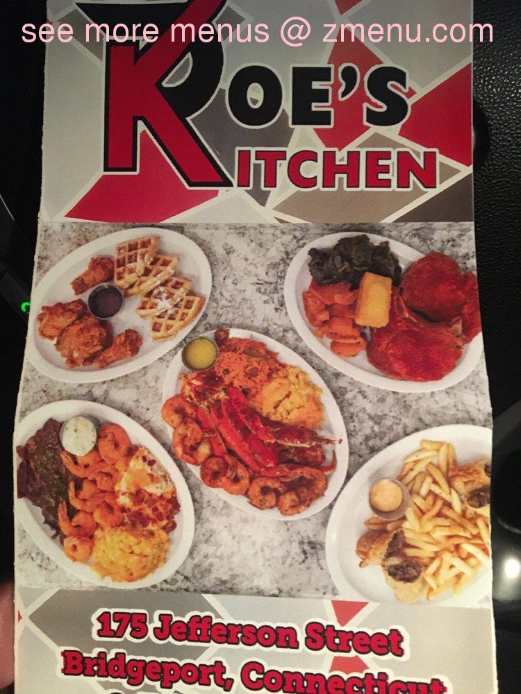 Online Menu Of Poes Kitchen Restaurant Bridgeport Connecticut 06607 Zmenu