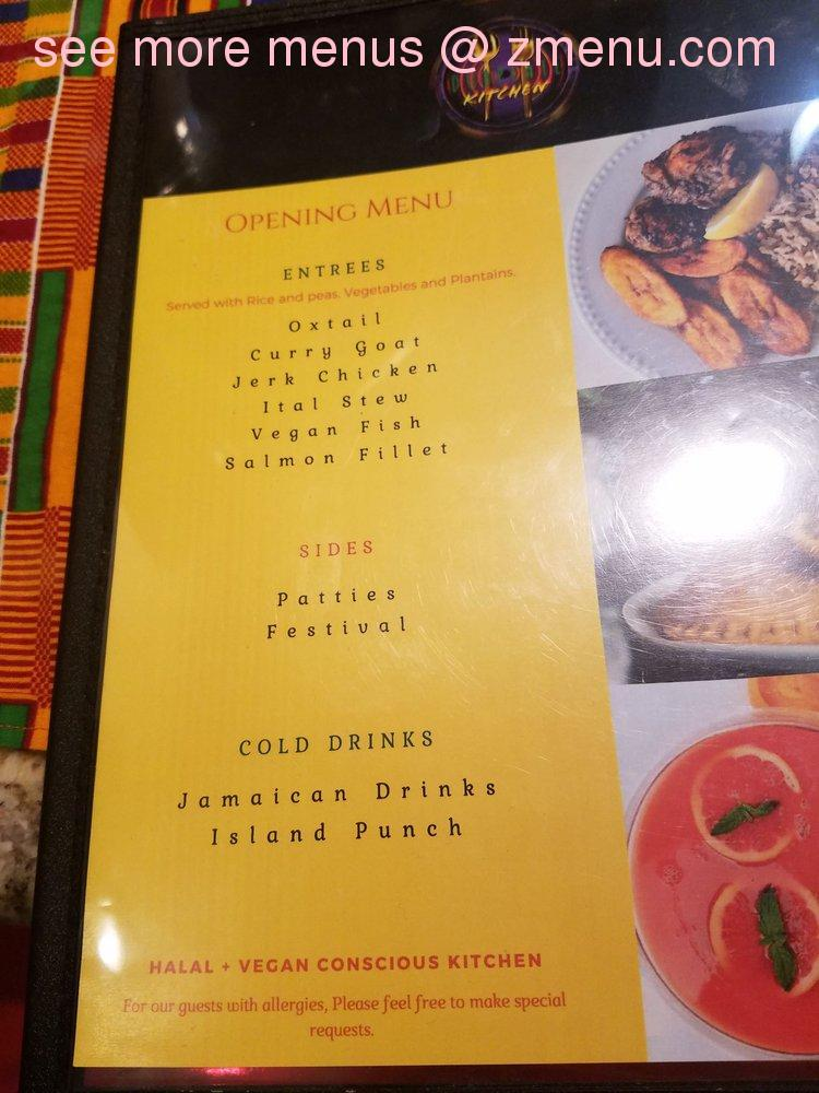 Online Menu of Dubplate Kitchen & Jamaican Cuisine