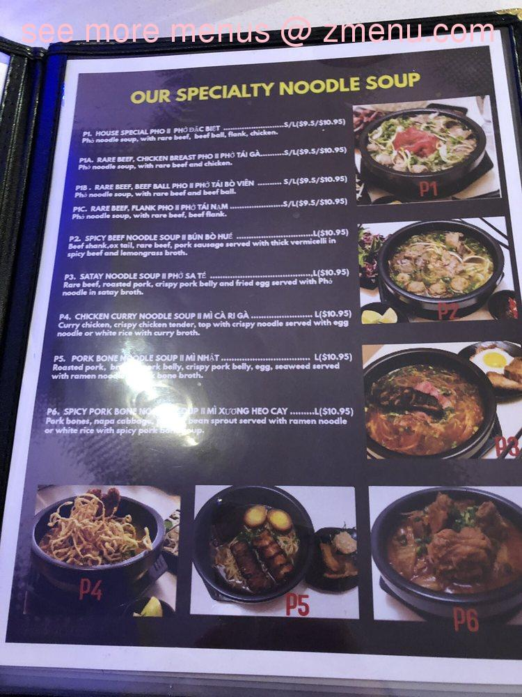 Online Menu of PHO 128 Restaurant, Concord, Ontario, L4K 4B5