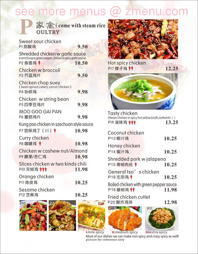 Online Menu Of China Tasty Restaurant Live Oak Florida 32064 Zmenu