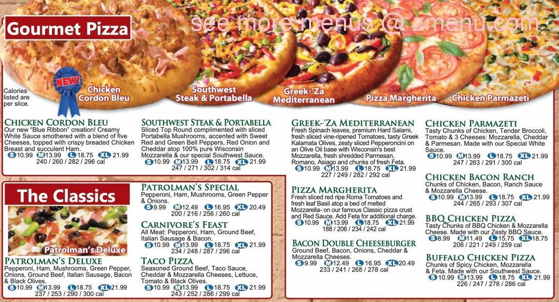 Online Menu Of B C Pizza Restaurant Kalamazoo Michigan 49006 Zmenu