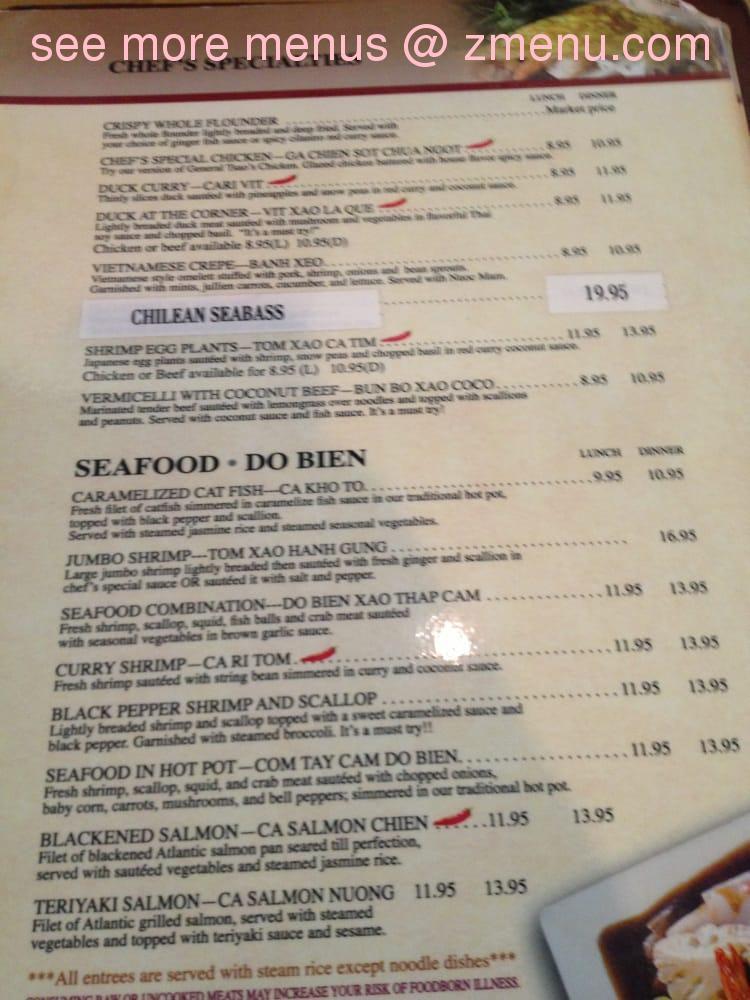 Online Menu Of Lucky Pho Ever Restaurant Frederick Maryland 21701 Zmenu