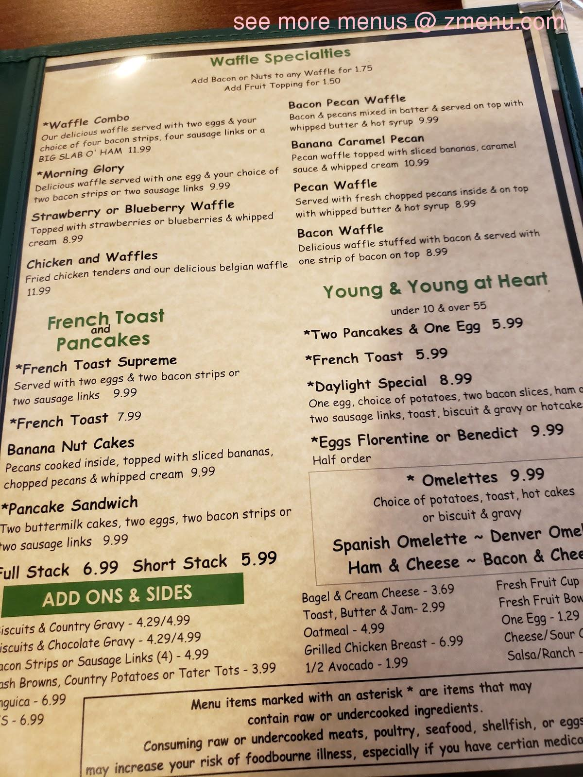 Online Menu Of My Garden Cafe Restaurant Turlock California 95380 Zmenu