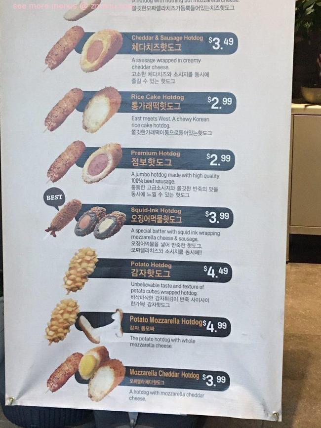 Online Menu of Cruncheese Korean Hot Dog Restaurant Las