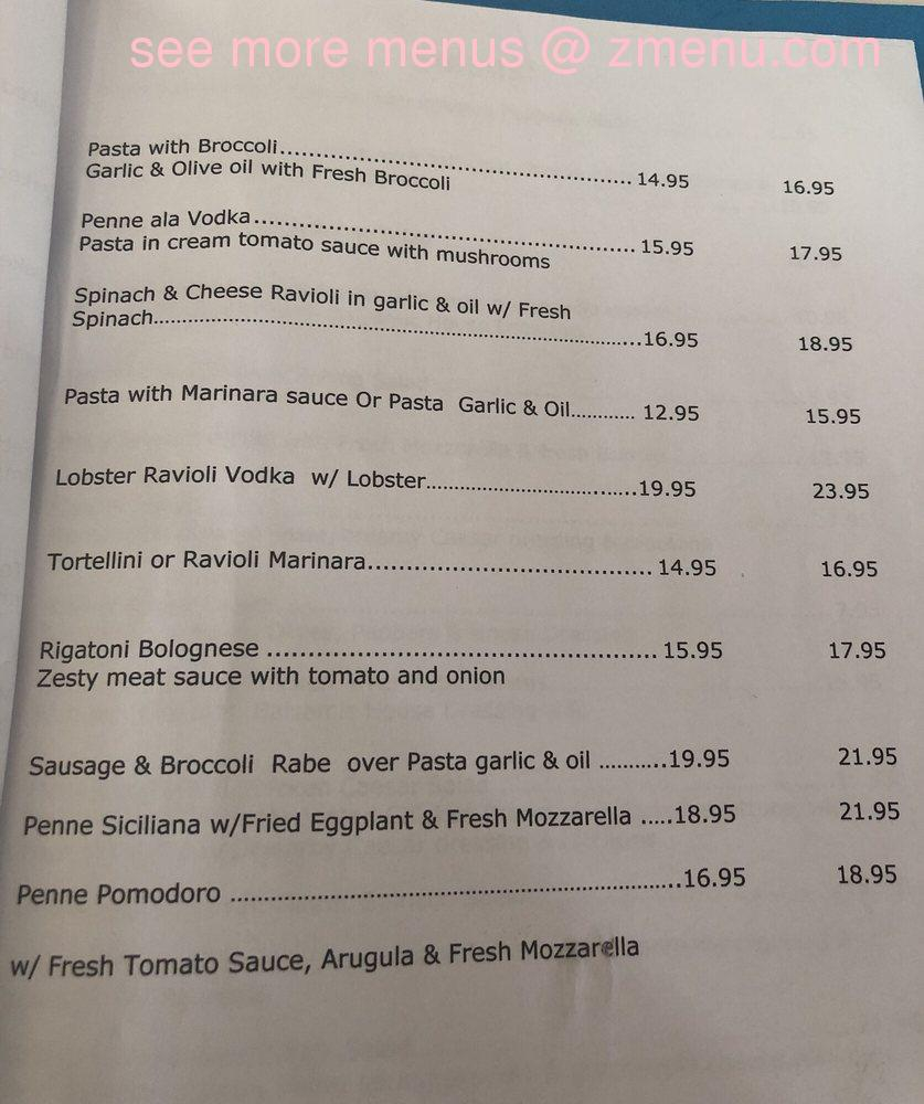 Online Menu Of Cucina Fresca Restaurant Staten Island New York
