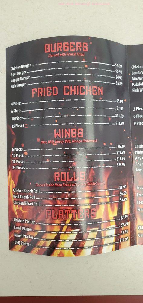 Online Menu Of Union Fried Chicken Grill Halal Restaurant Union New Jersey 07083 Zmenu