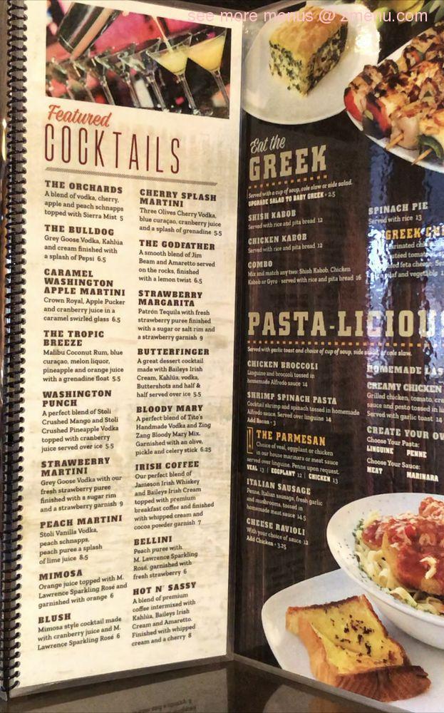 Online Menu Of Crave Kitchen Cocktails Restaurant Washington Michigan 48095 Zmenu