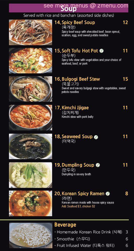 Online Menu Of Kims Kitchen Restaurant Federal Way Washington 98003 Zmenu