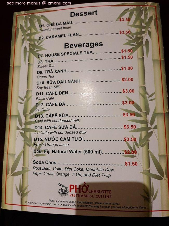 pizza_Online Menu of Pho Charlotte Restaurant, Port Charlotte, Florida, 33953 - Zmenu