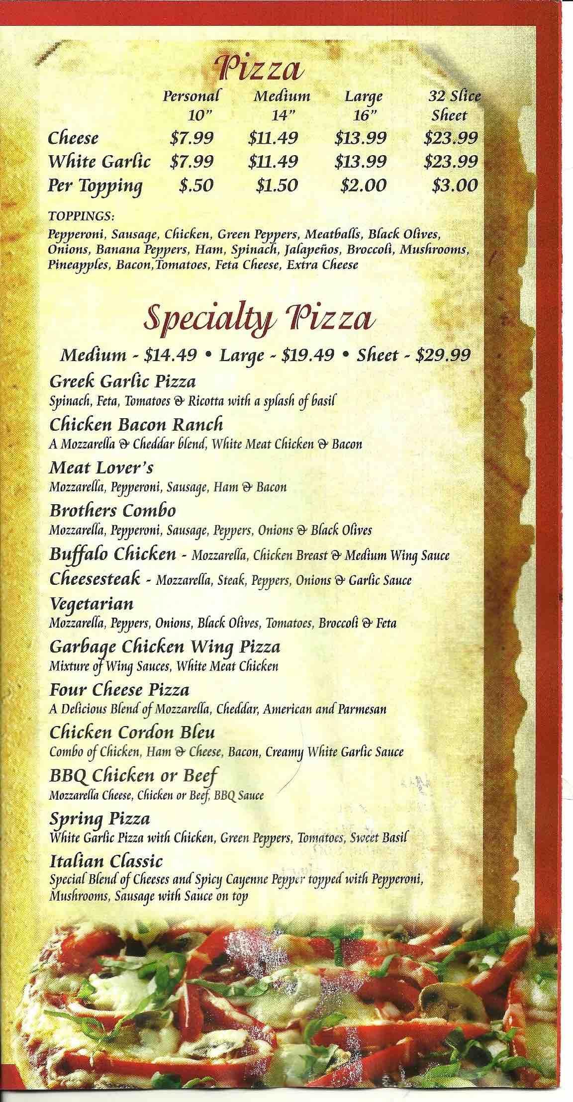 Online Menu of Italian Kitchen Restaurant, Ovid, New York, 14521 - Zmenu