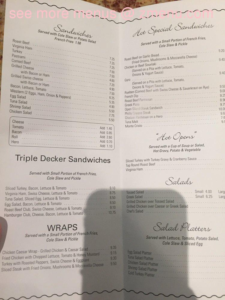 Online Menu Of Georges Kitchen Restaurant Sound Beach New