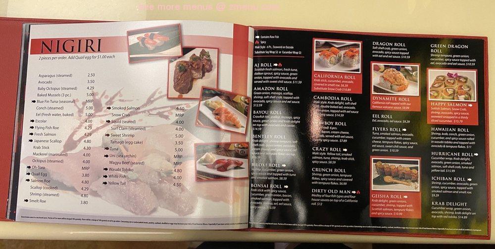 Online Menu Of Kalbi Ichiban Restaurant Pensacola Florida 32502 Zmenu
