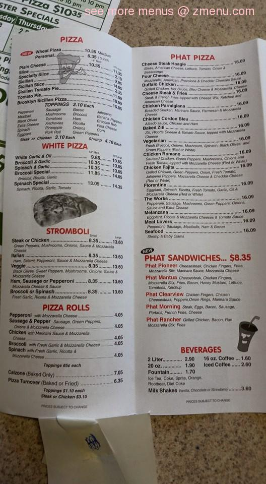 Cafe Antonio S Menu Bridgeton Nj