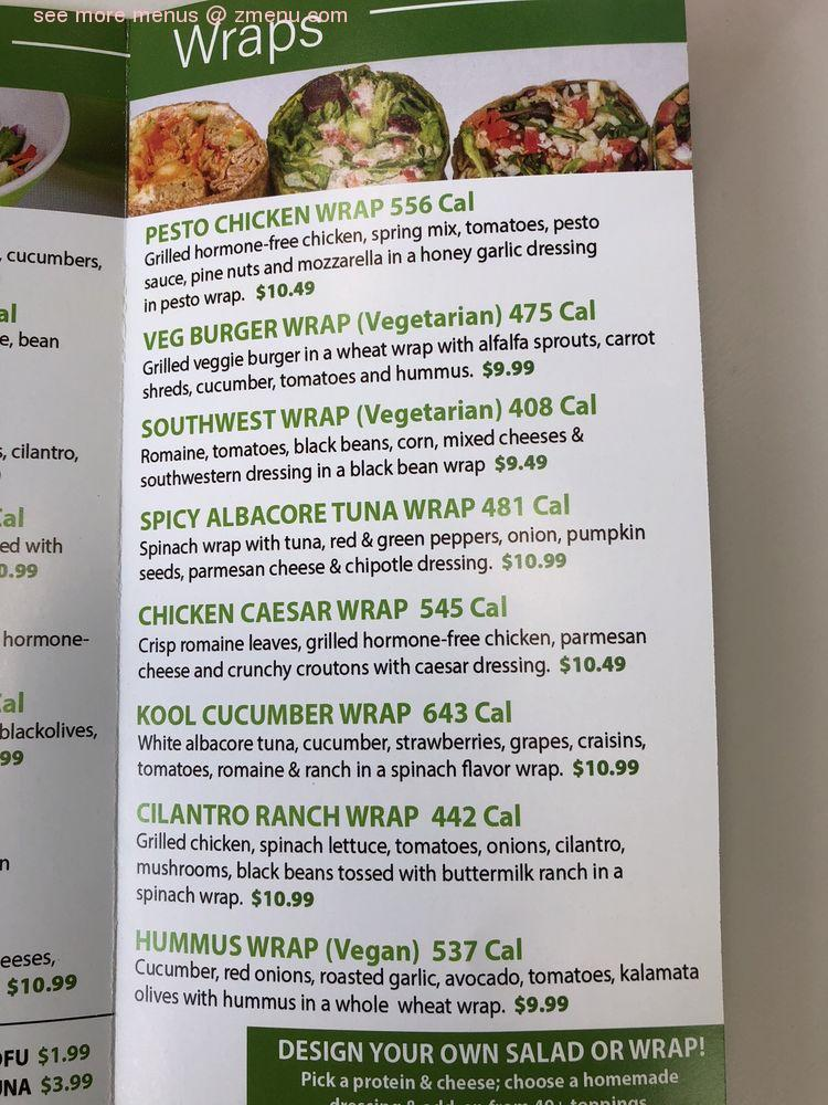 Online Menu Of Goji Juicery And Kitchen Restaurant Dania Beach Florida 33004 Zmenu
