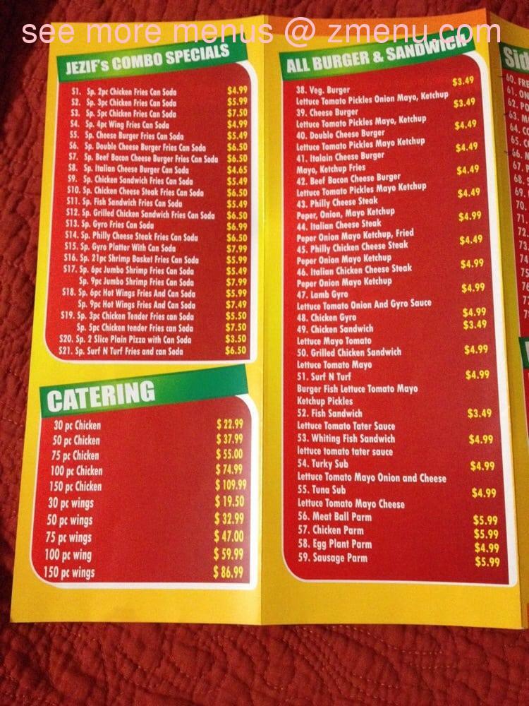 Bus Stop Restaurant Carteret Nj Menu