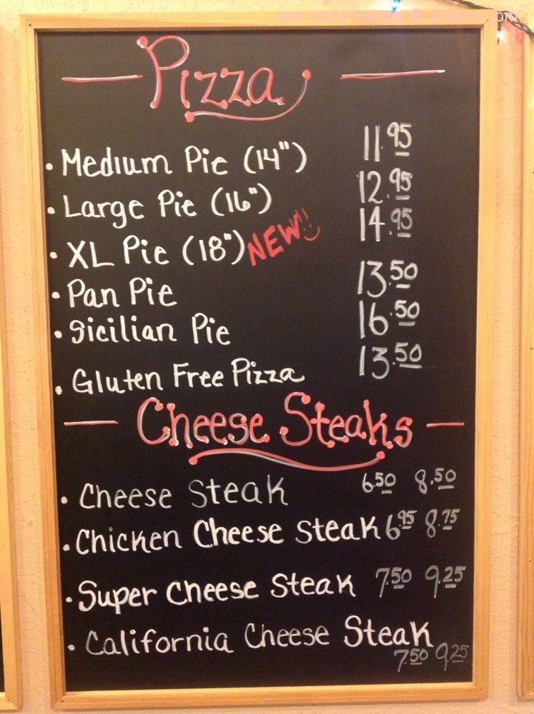 Online Menu of Emilios Restaurant & Pizzeria Restaurant, Jackson ...