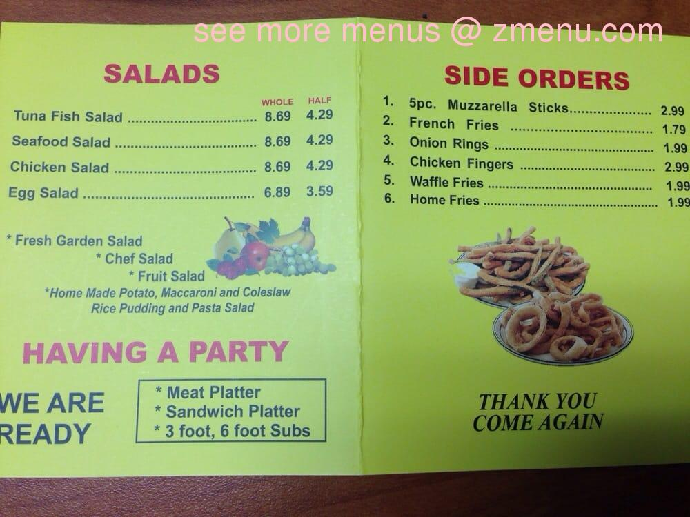 Online Menu of Lee\'s Market Restaurant, Perth Amboy, New Jersey ...