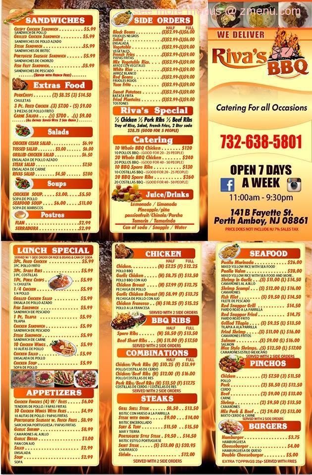 Riva S Bbq Restaurant Perth Amboy Nj