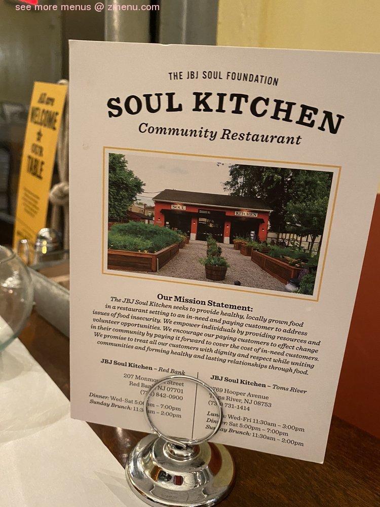 Online Menu Of Jbj Soul Kitchen Restaurant Red Bank New Jersey 07701 Zmenu