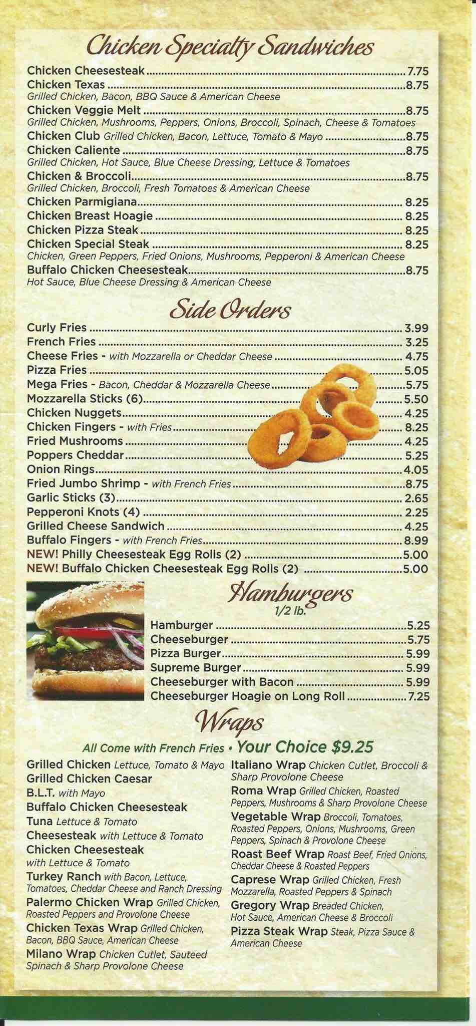 Pat S Kitchen Menu Prices