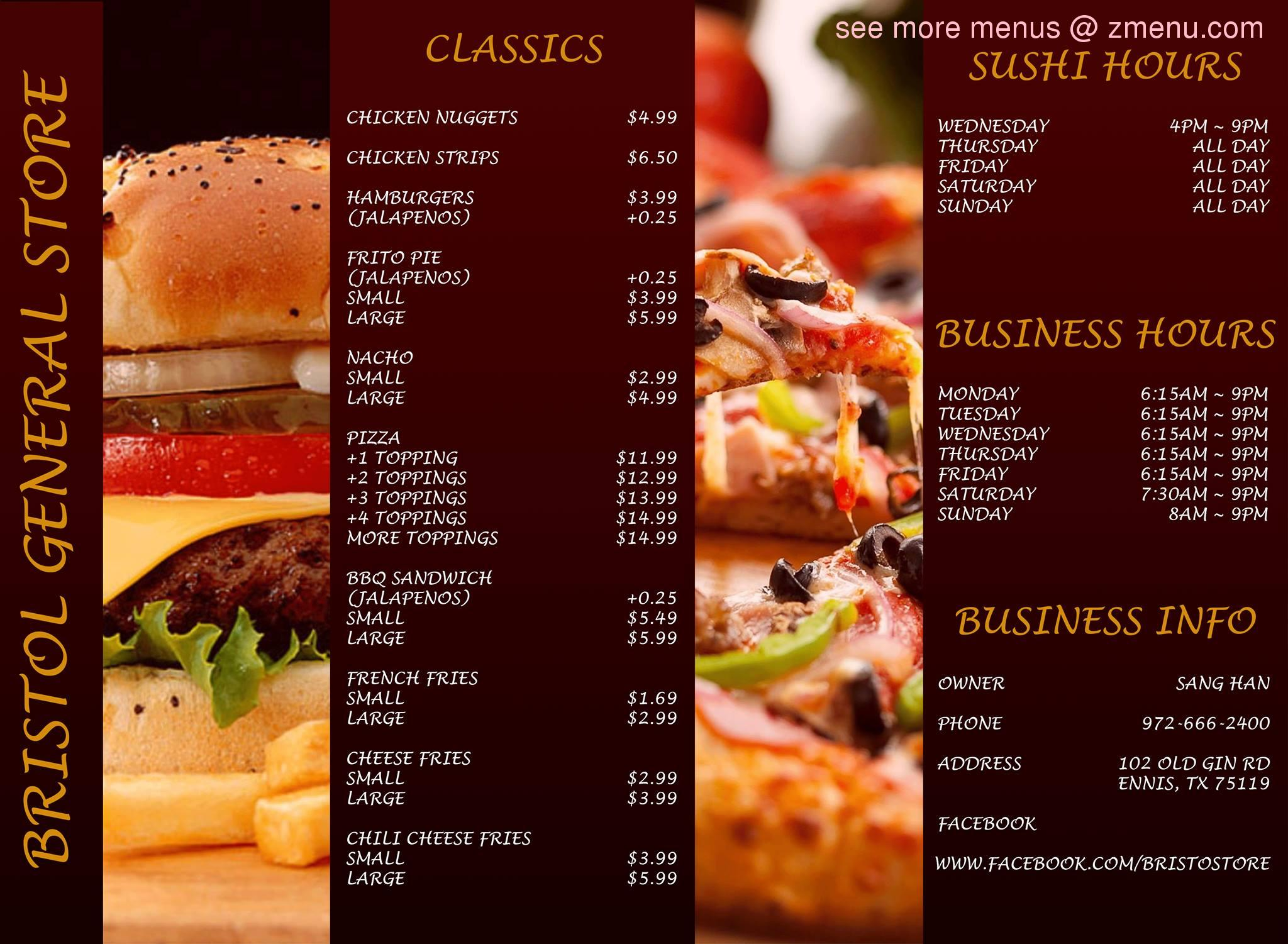 Fast Food In Ennis Tx