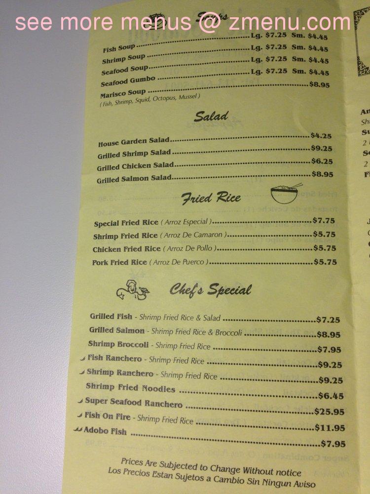 Michoacana Seafood Restaurant Houston