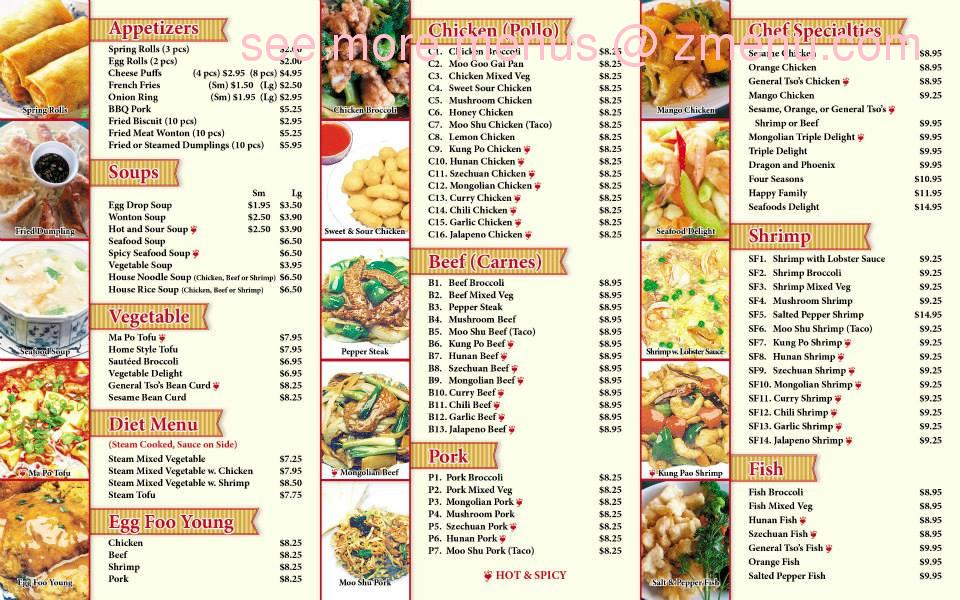 Hours Chinese Food Houston