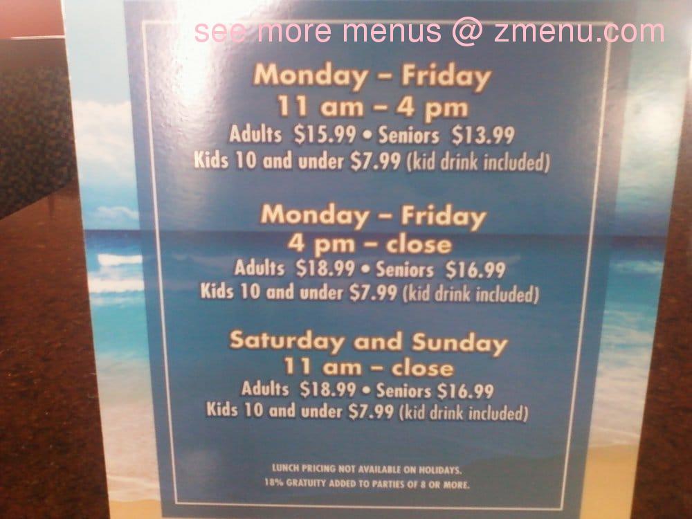 online menu of lighthouse buffet restaurant kemah texas 77565 zmenu rh zmenu com