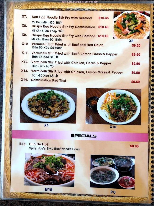 Online Menu Of Pho One Restaurant Lewisville Texas 75067 Zmenu