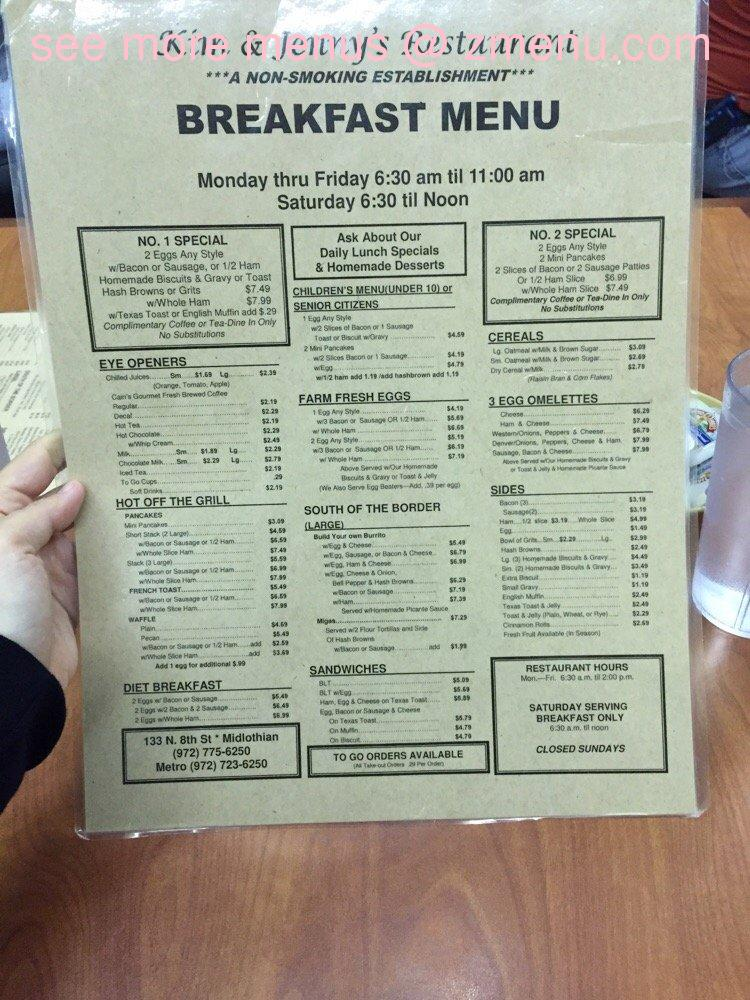 Mo S Cafe And Deli In Midlothian Menu
