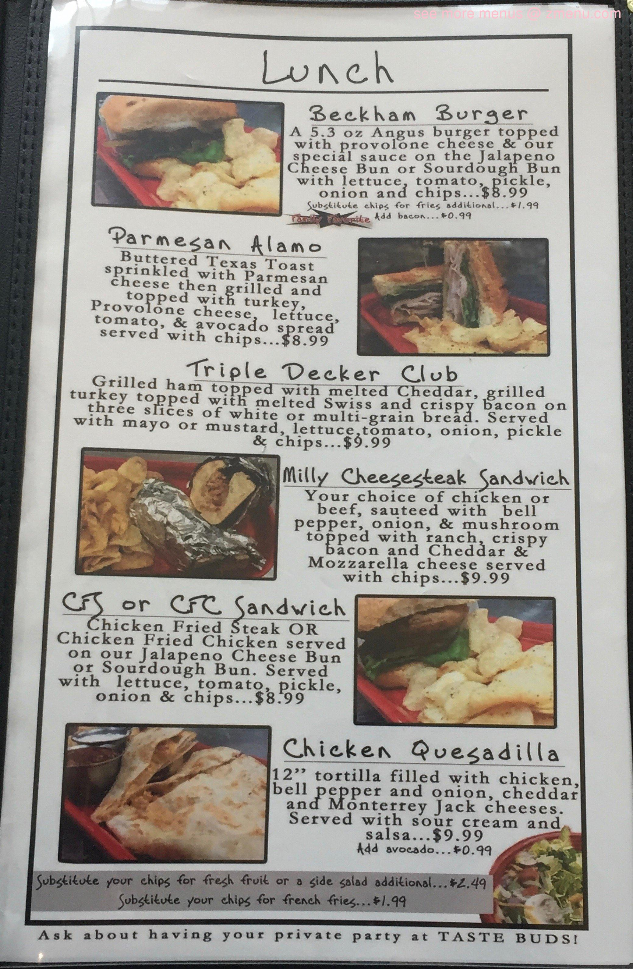 Kitchens Restaurant Mineola Tx Menu