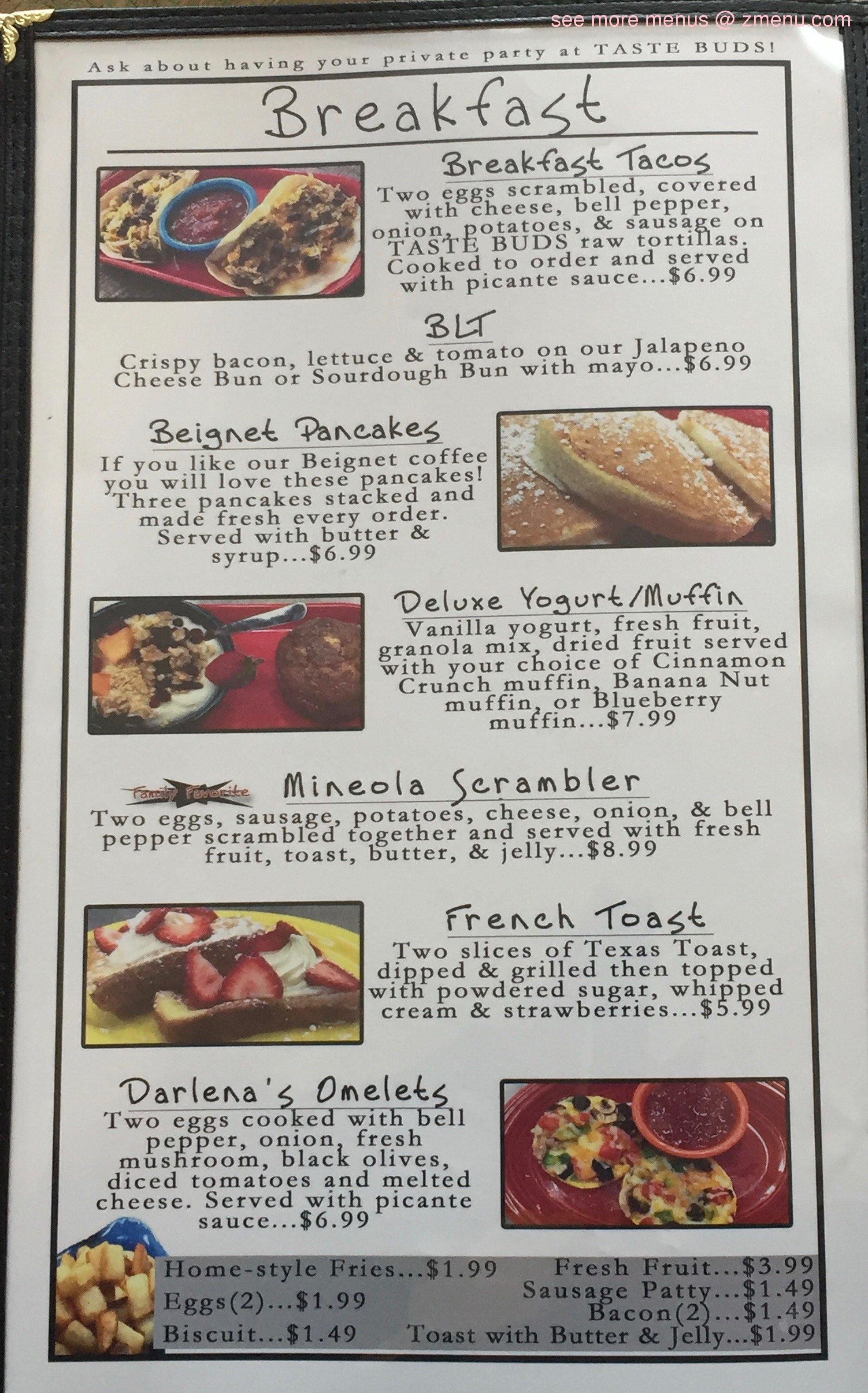 Kitchens Hardware And Deli Menu