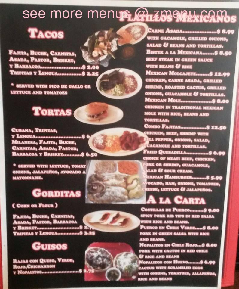Italian Restaurant Pampa Tx Menu