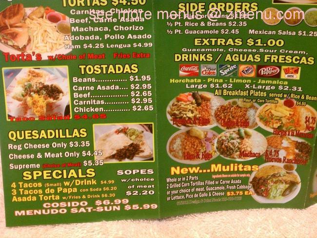 Online Menu Of Albert 39 S Mexican Food Restaurant La Puente California 9