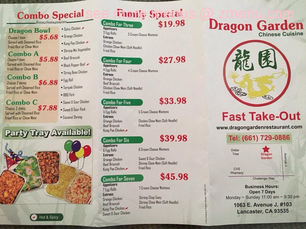 Chinese Fast Food Lancaster Ca