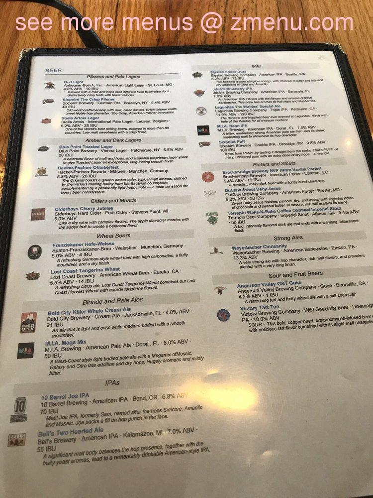 Online Menu Of The Crooked Spoon Gastropub Restaurant Clermont