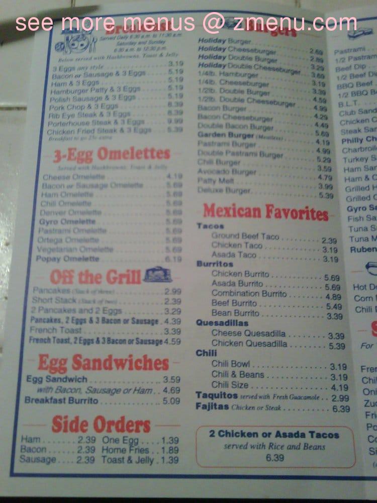Gusto Cafe Menu Prices