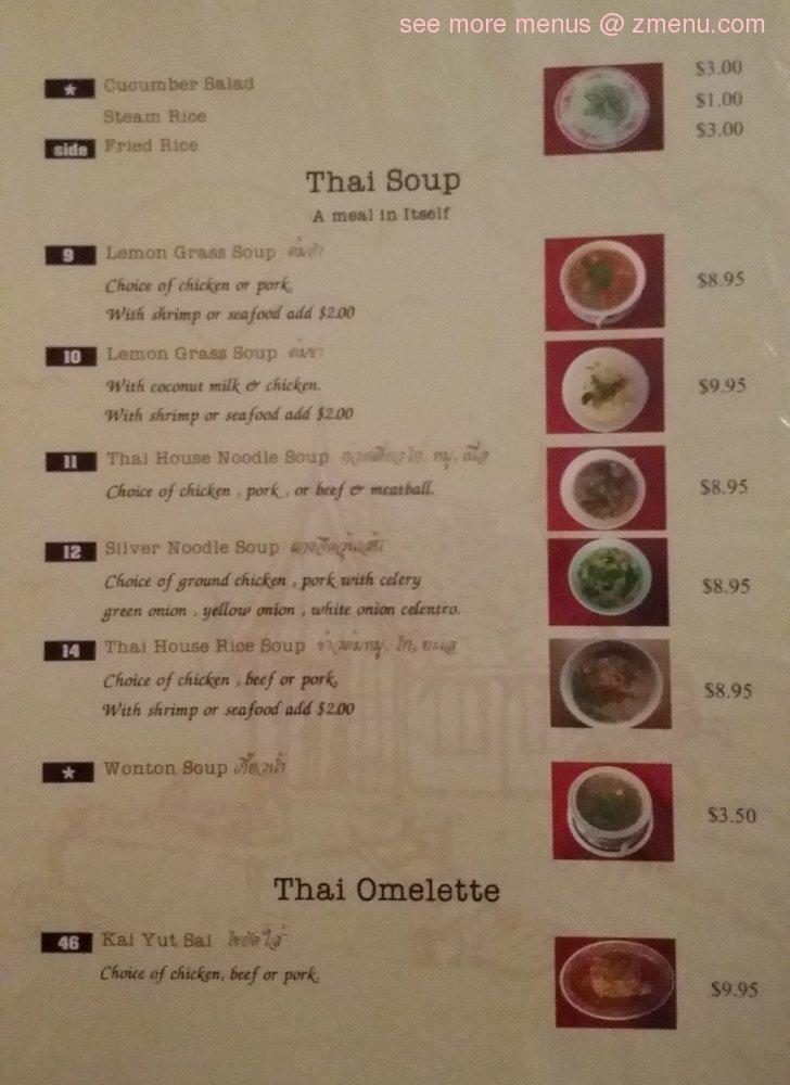 Thai House Restaurant Fort Walton Beach