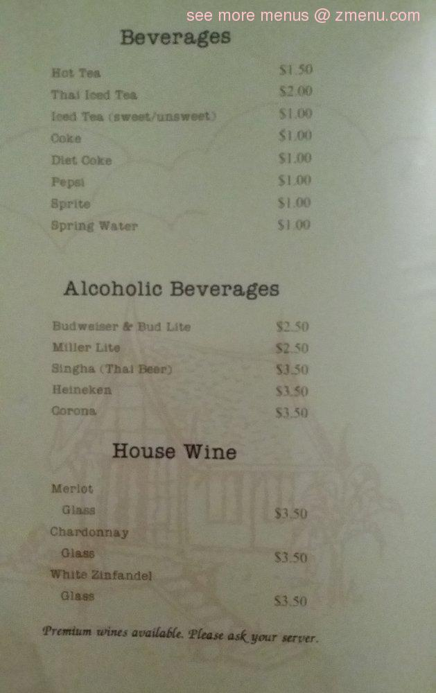 Online Menu of Thai House Restaurant Restaurant, Fort Walton Beach ...